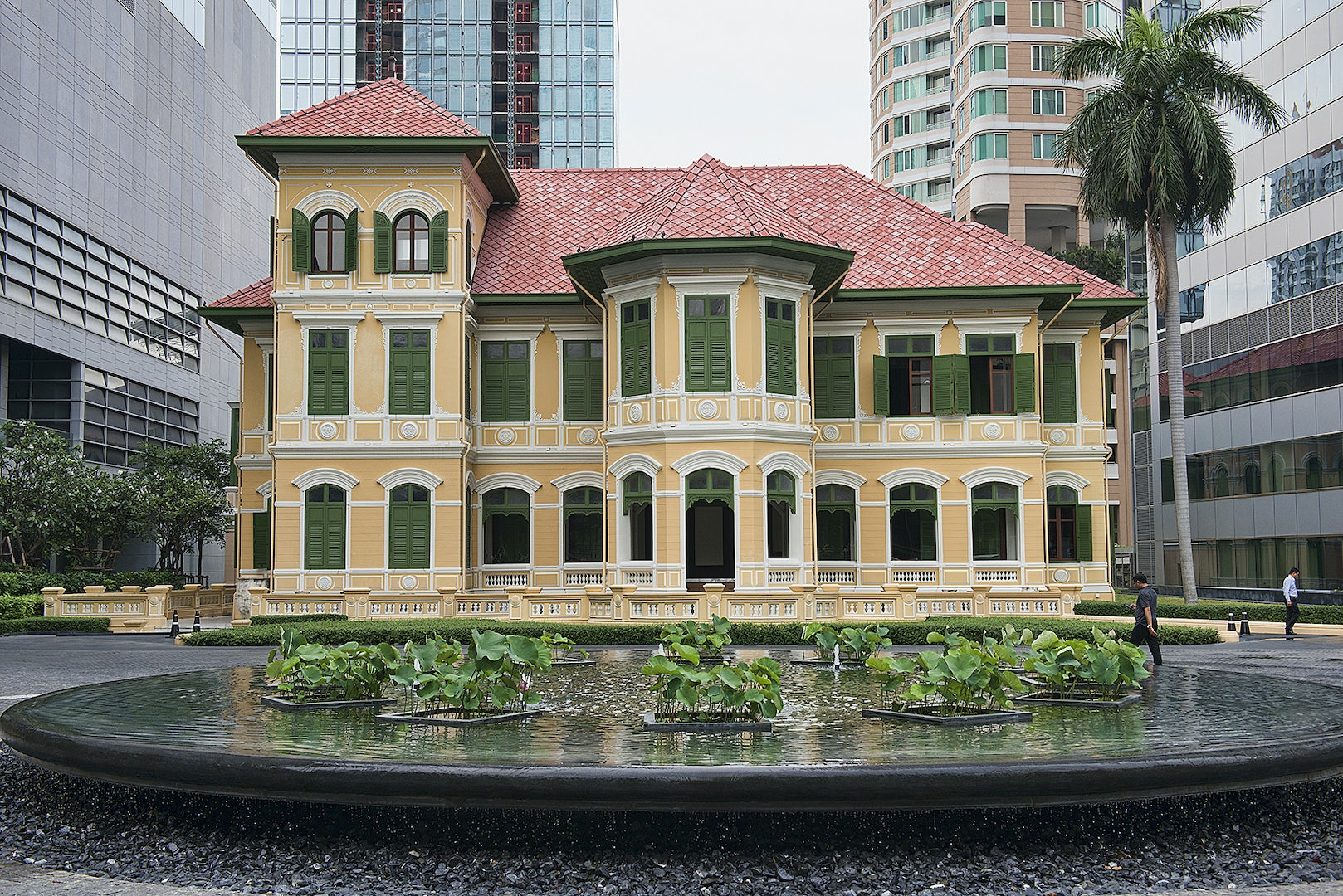 exterior of the House on Sathorn