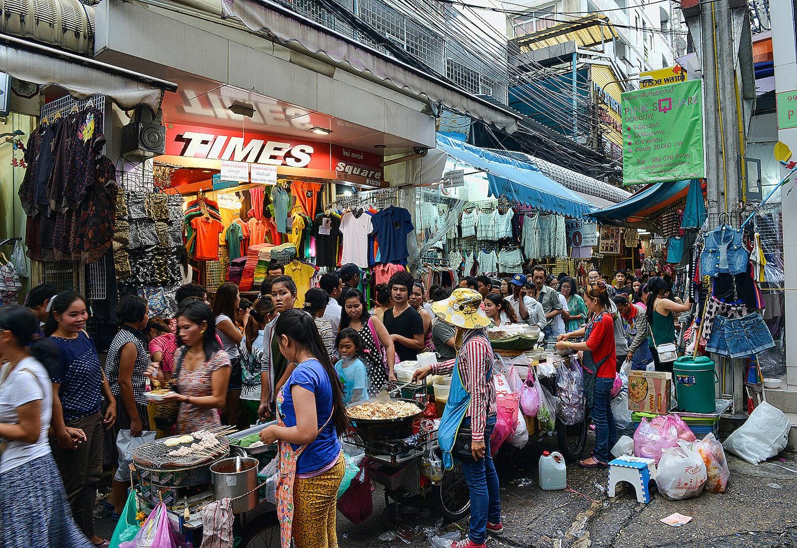 Pratunam street market