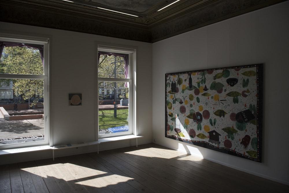 painting at Cokkie Snoei gallery