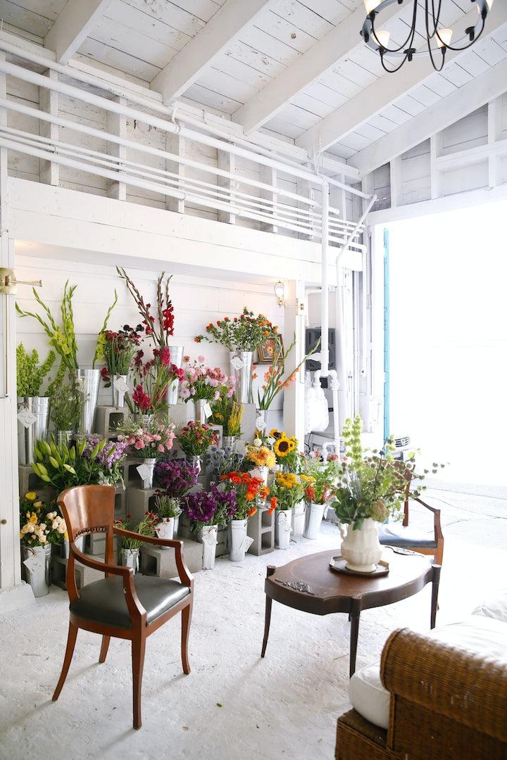 Ampersand flower store in SF