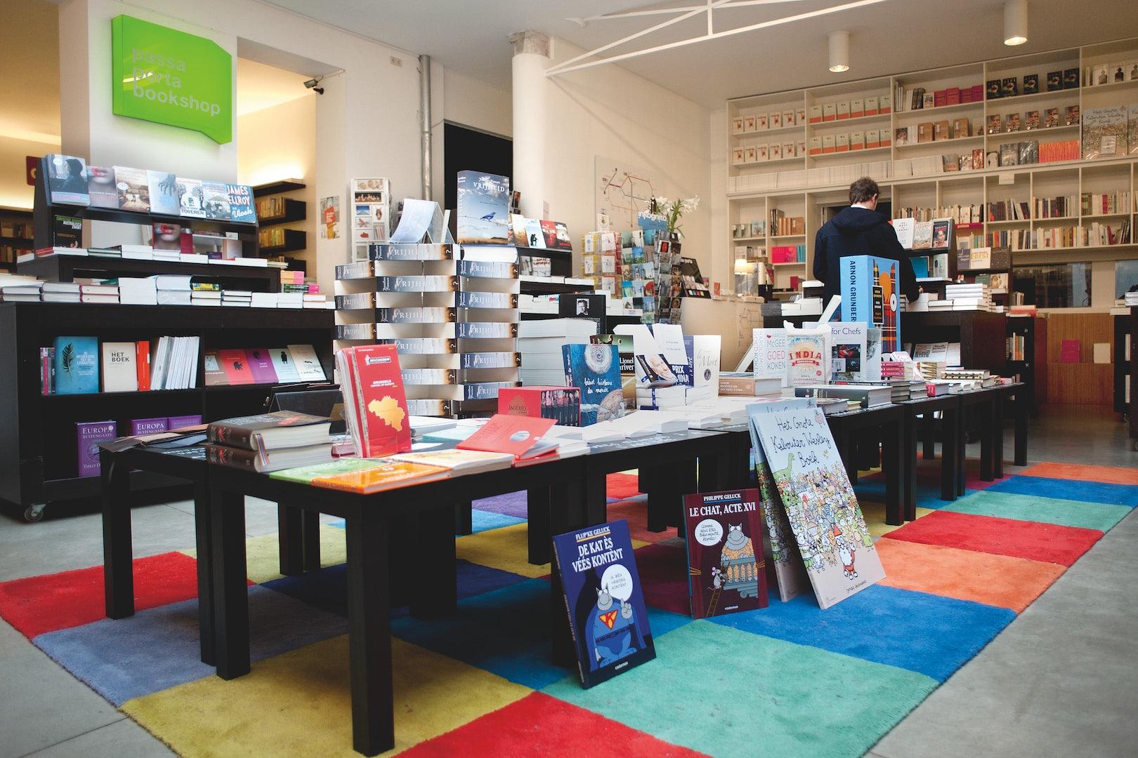 bookstore Passa Porta in Brussels