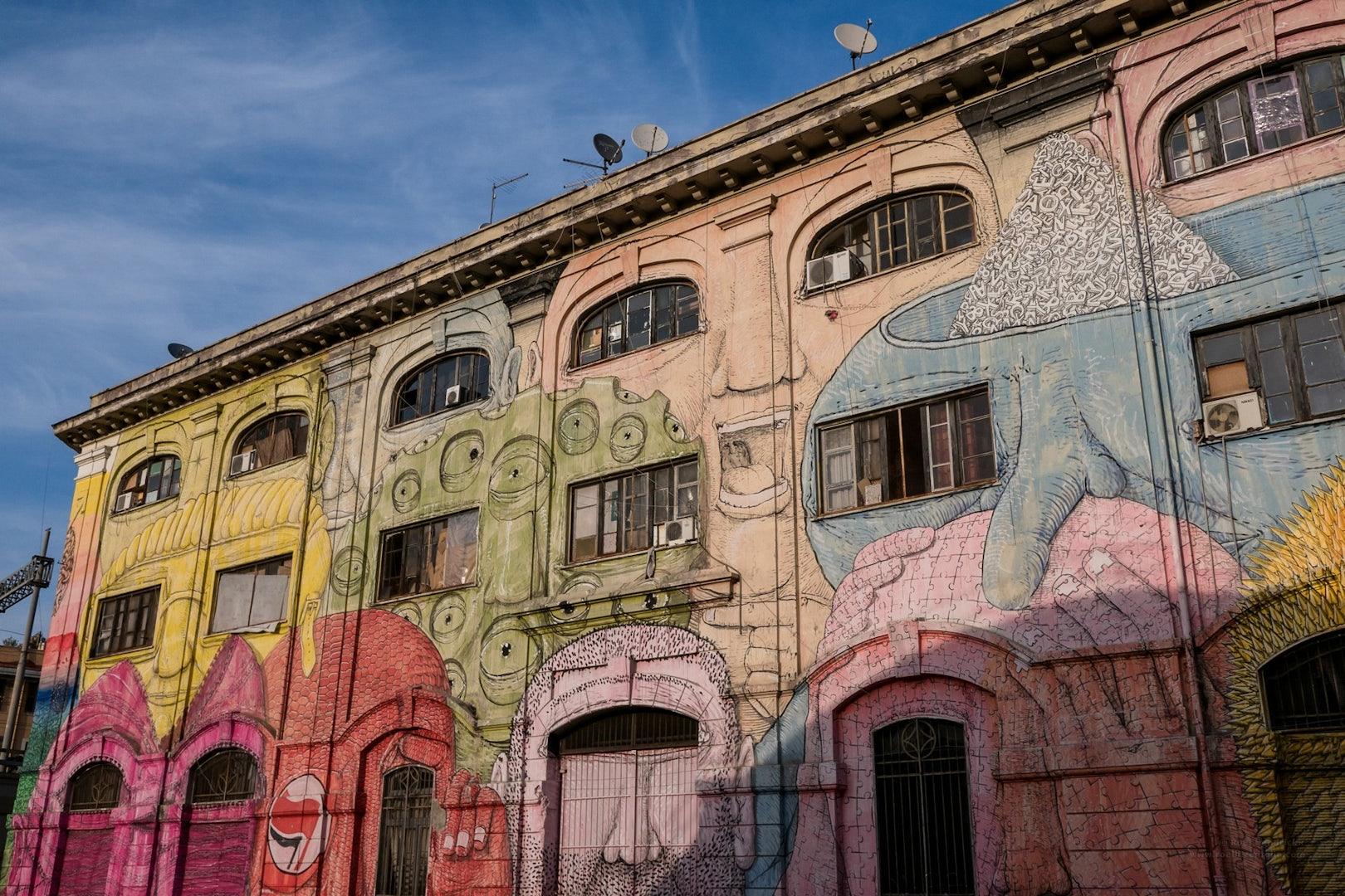 Rome - I Volti di Blu