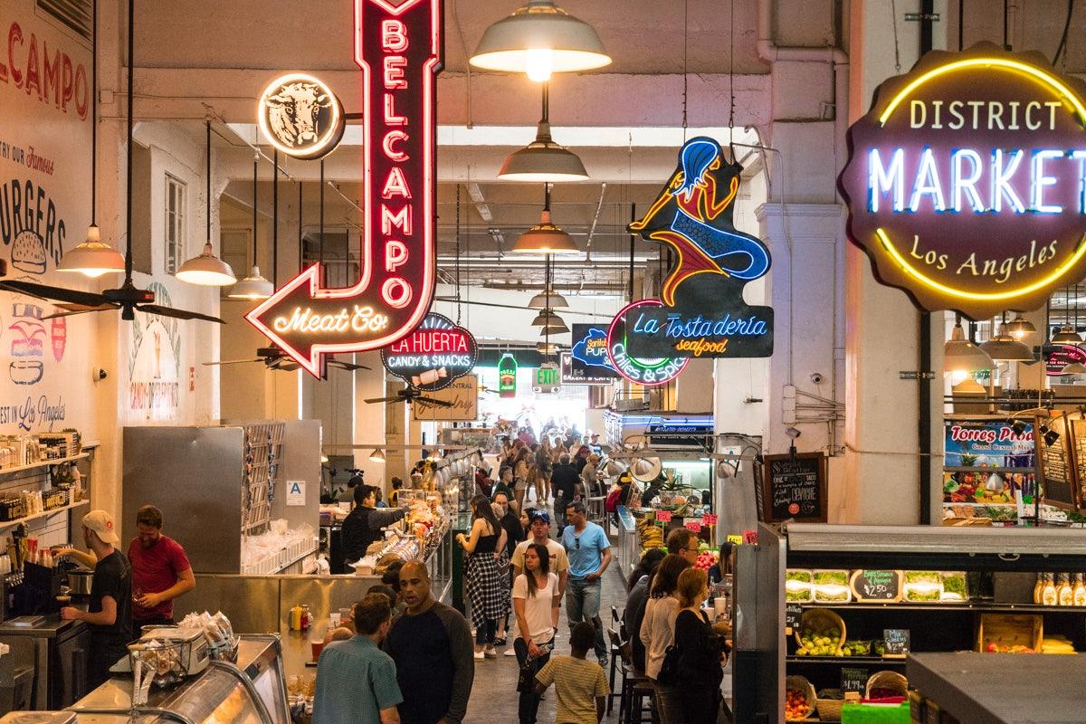 Grand Central Market food court