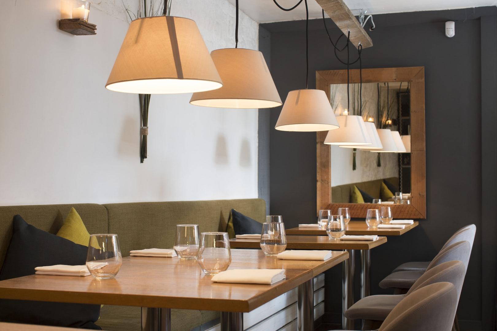 Heron & Grey restaurant in Dublin