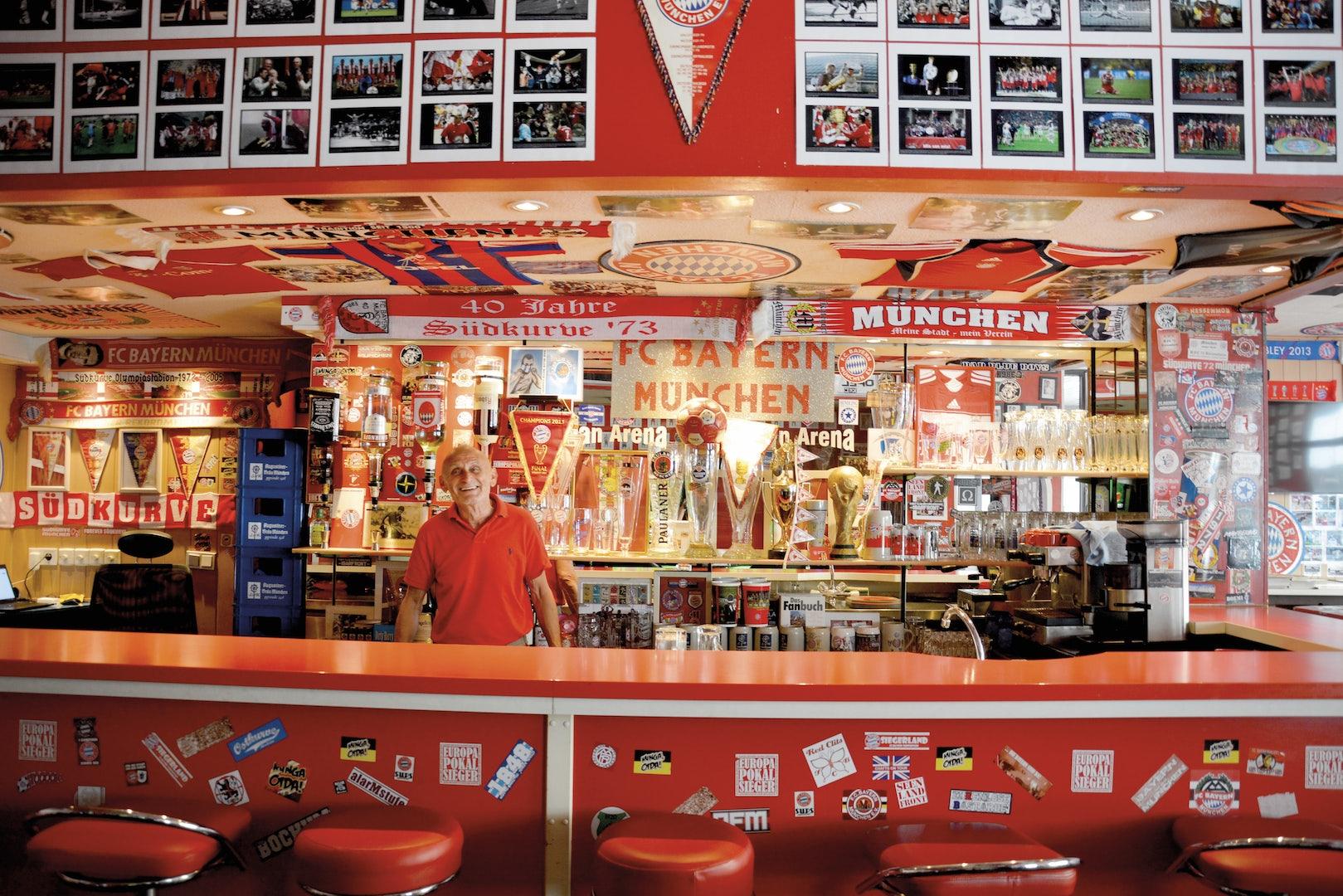 FC Bayern Fan Arena bar