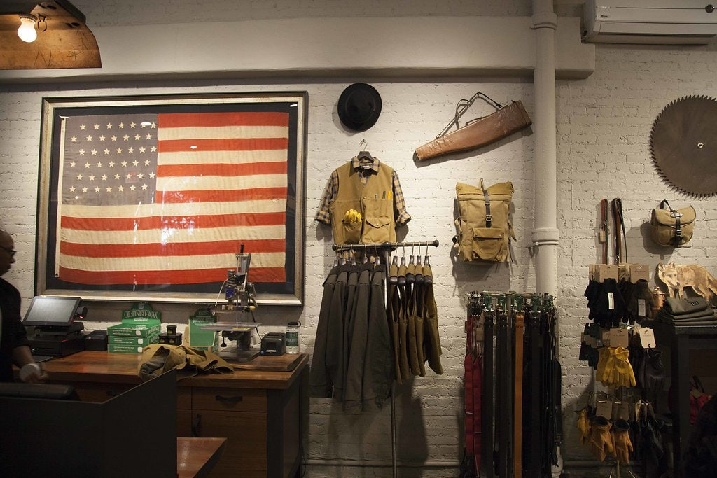 men's fashion and accessories at Filson NY