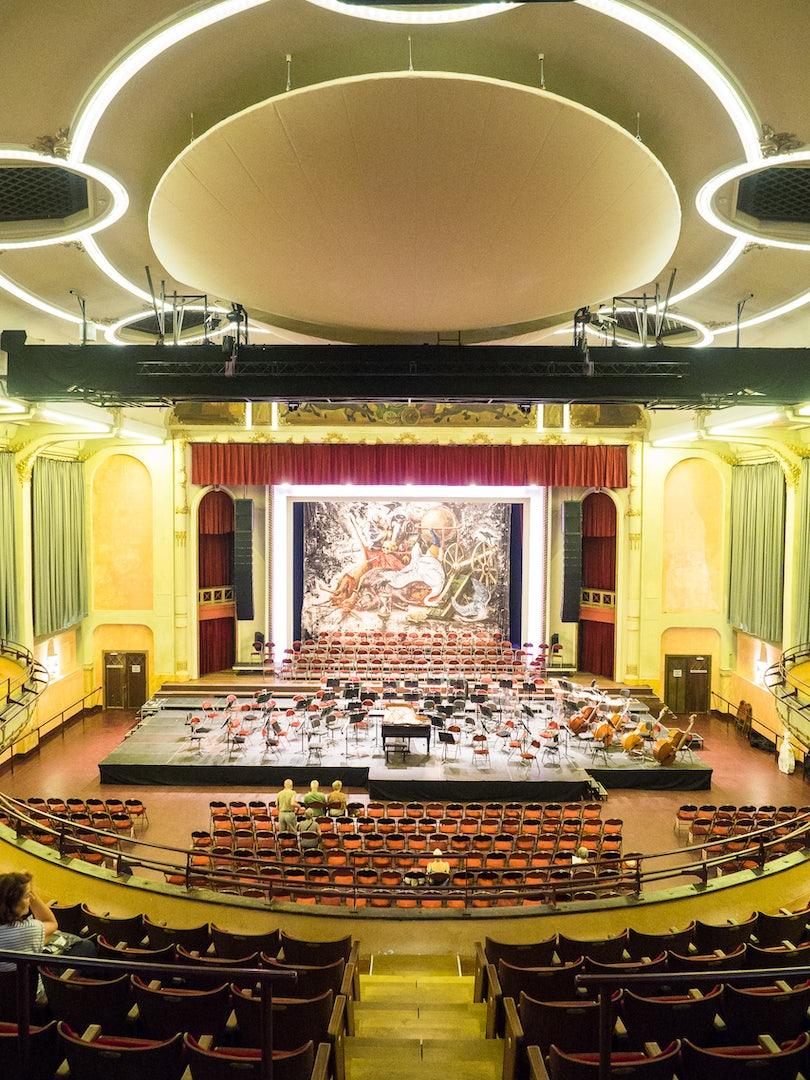 theatre and venue space at De Roma Antwerp