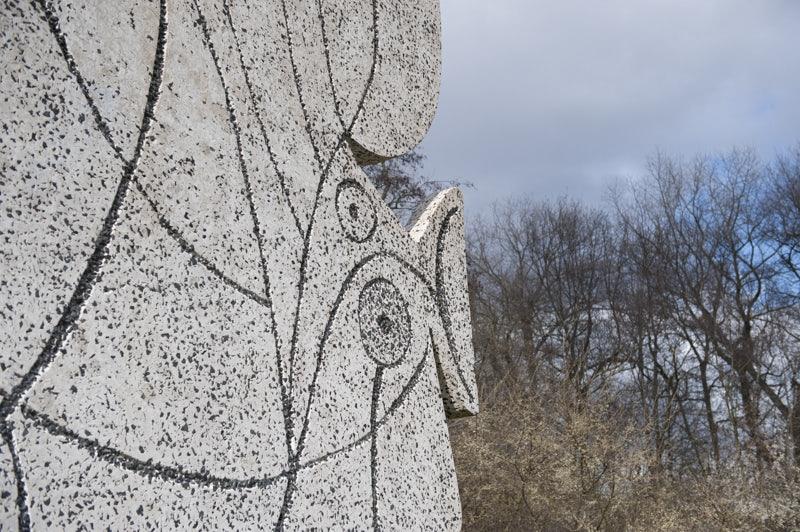 Figure Découpée of Picasso in het Vondelpark