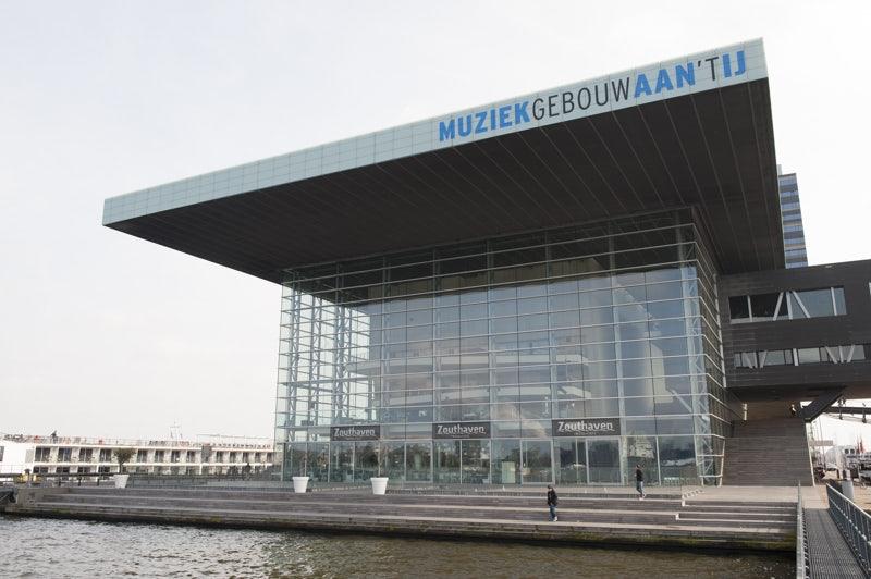 Muziekgebouw aan 't IJ in Amsterdam