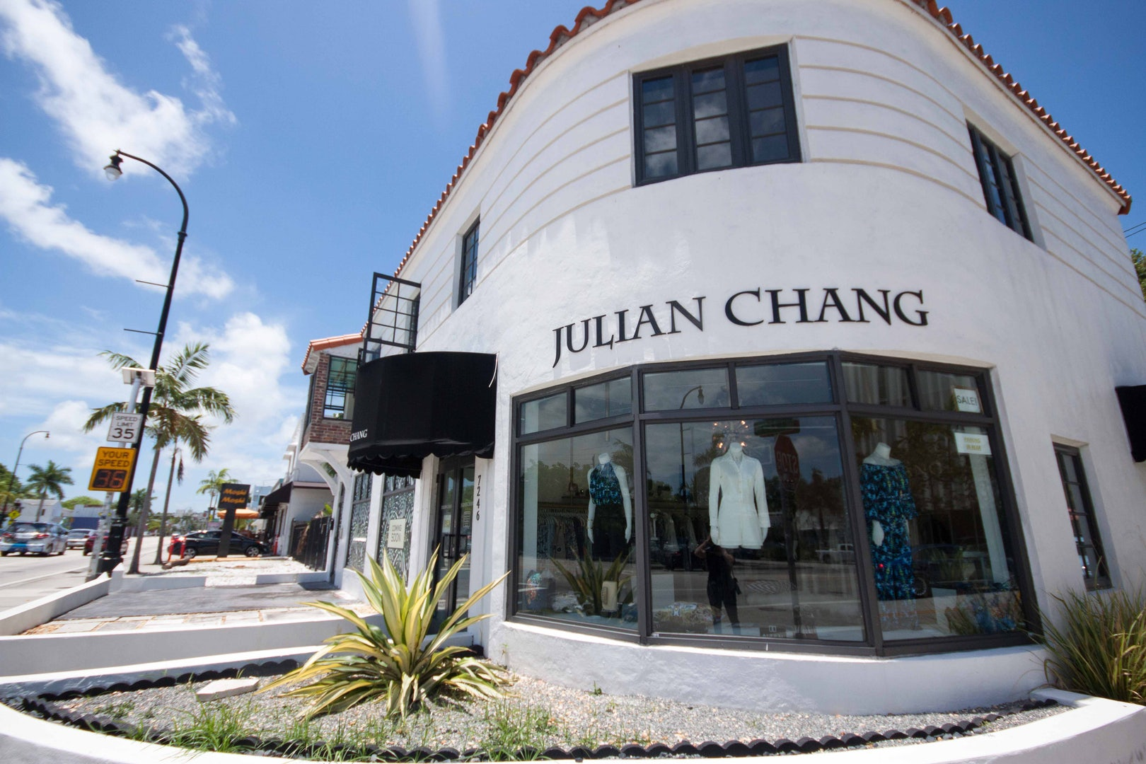 Julian Chang boutique in Miami