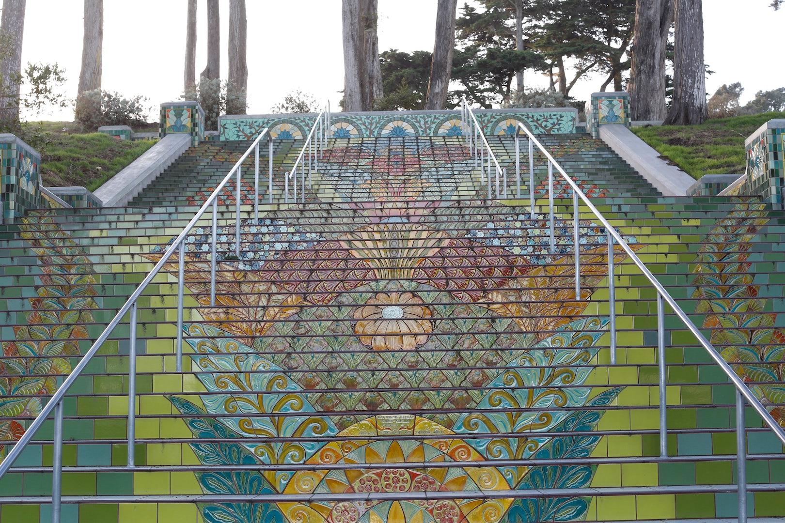 Lincol Park Steps in San Francisco