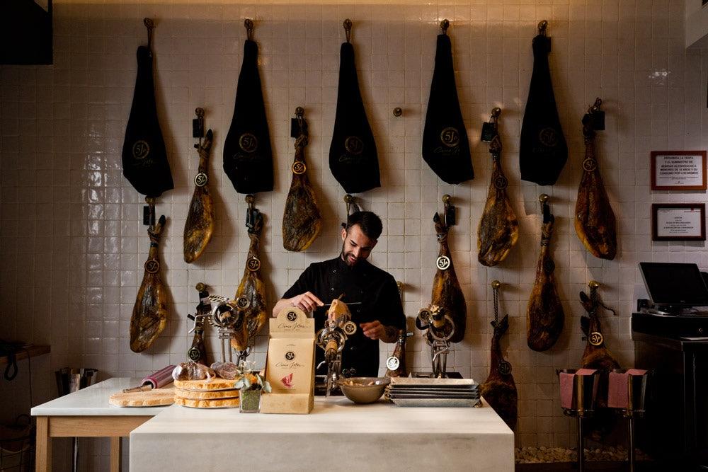 Cinco Jotas Iberican Ham restaurant