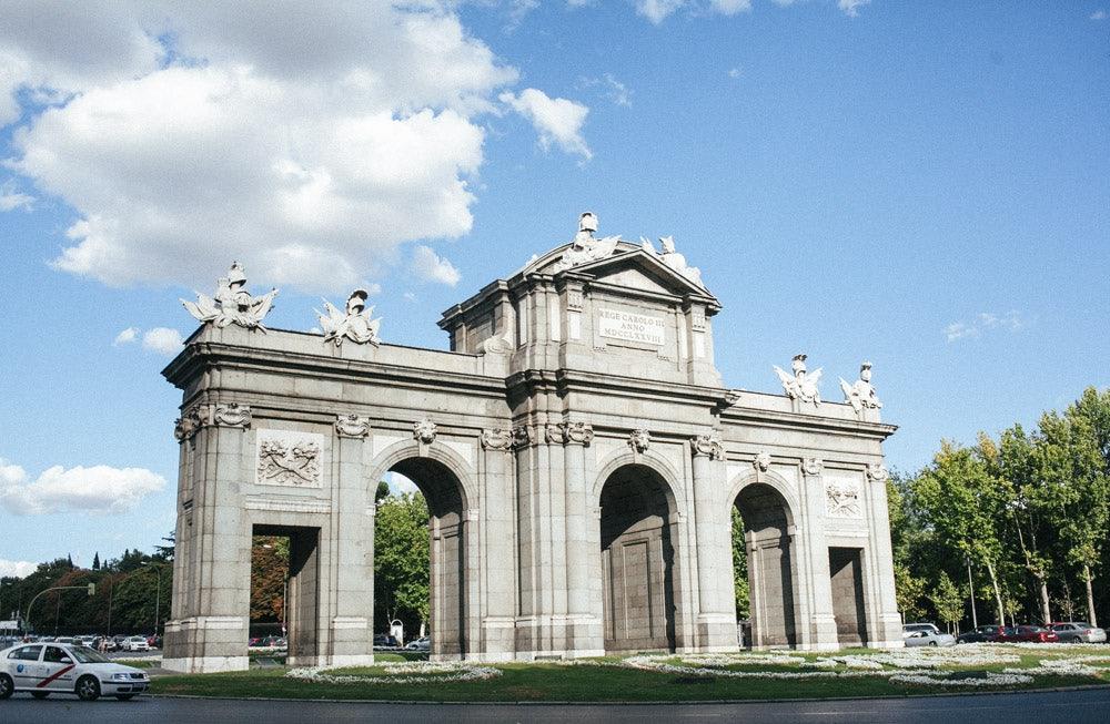 Puerta de Alcala in Madrid