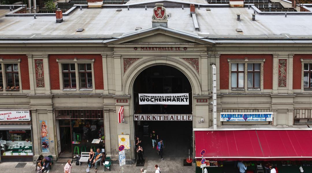exterior of Markthalle Neun