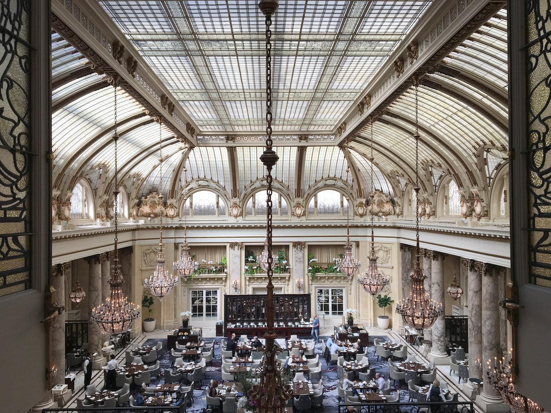 interior of the foyer at Palace Hotel San Francisco