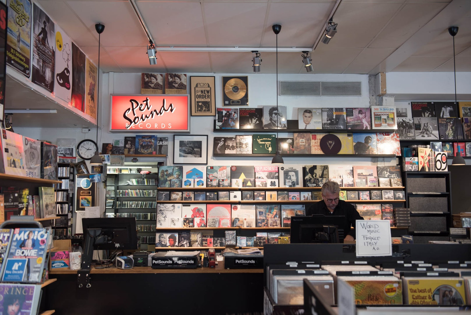 Pet Sounds record store in Stockholm