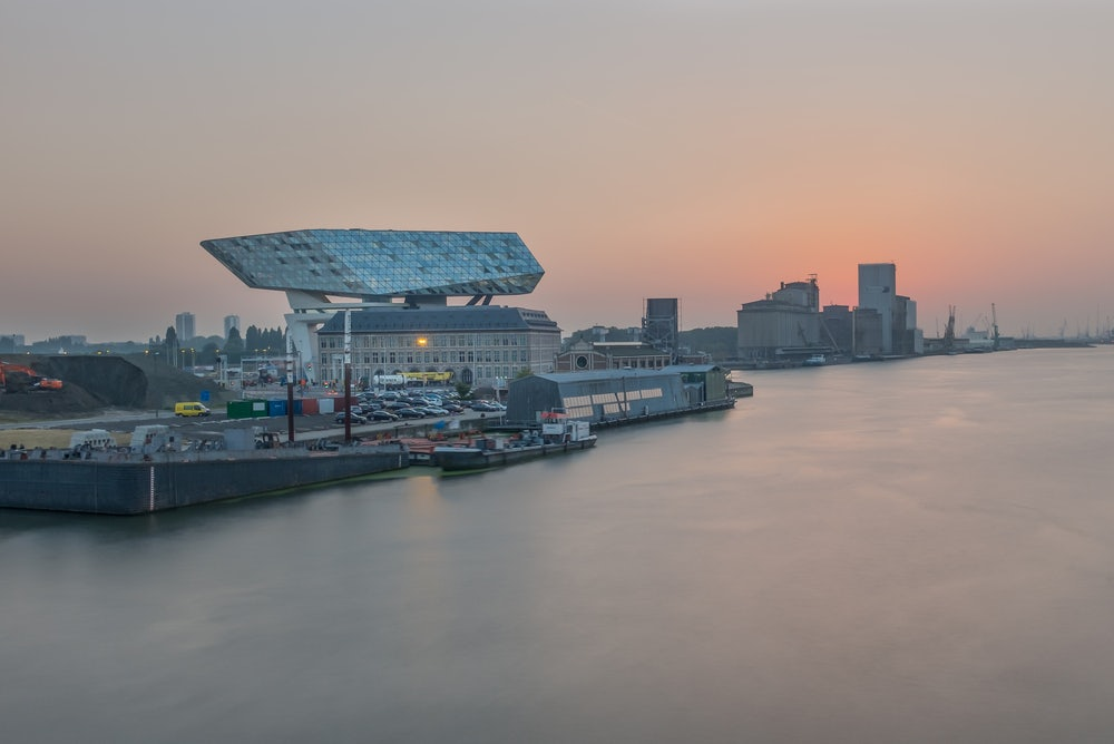 Port House of Antwerp by Zaha Hadid
