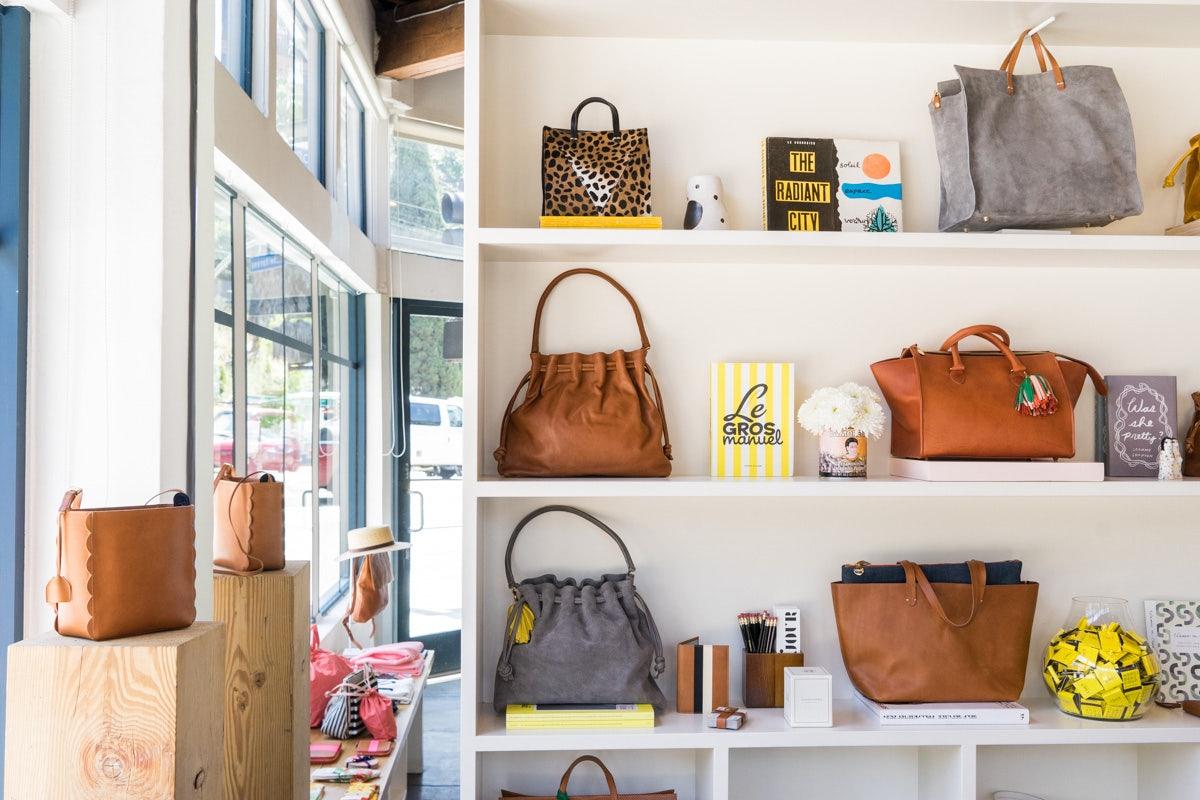 handbags at the Clare V. store