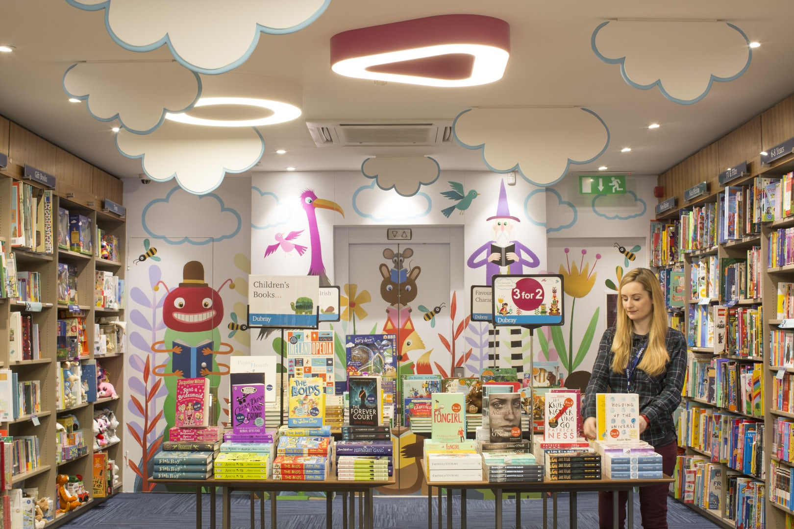 Children's book at Dubray store in Dublin