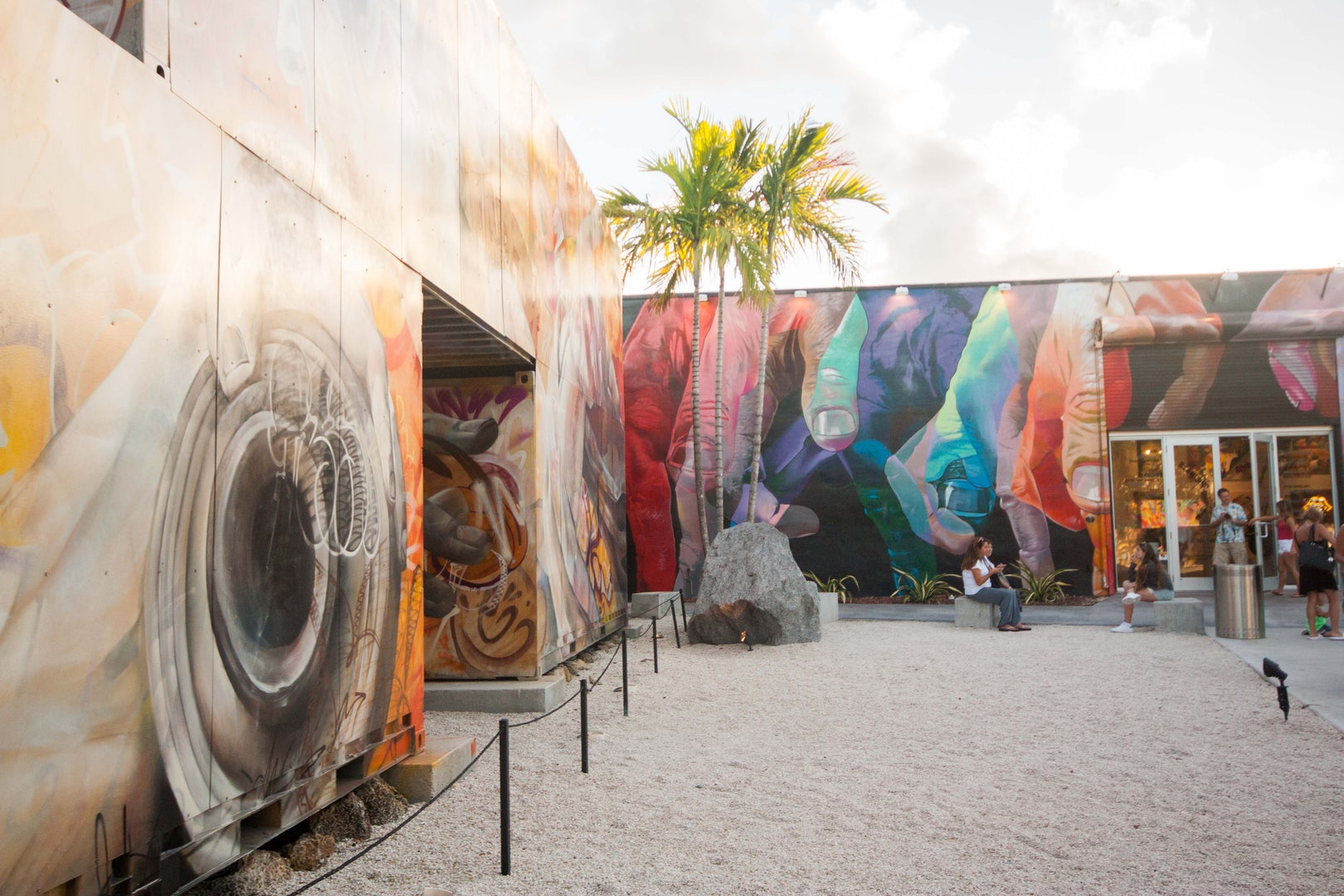 mural art of the Wynwood walls in Miami