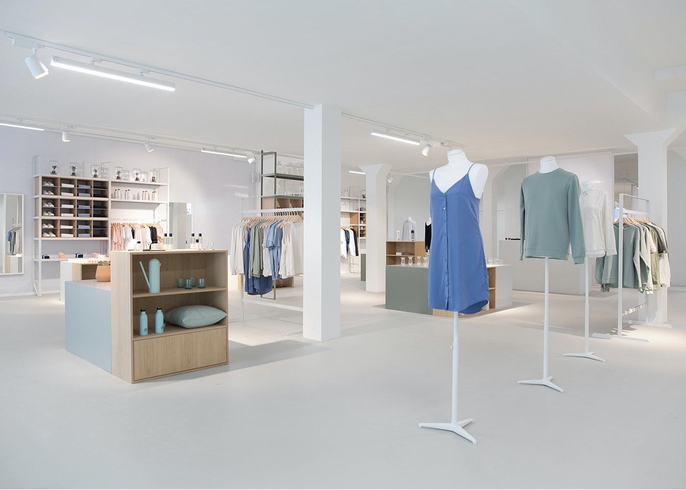 interior of Hutspot store in Amsterdam