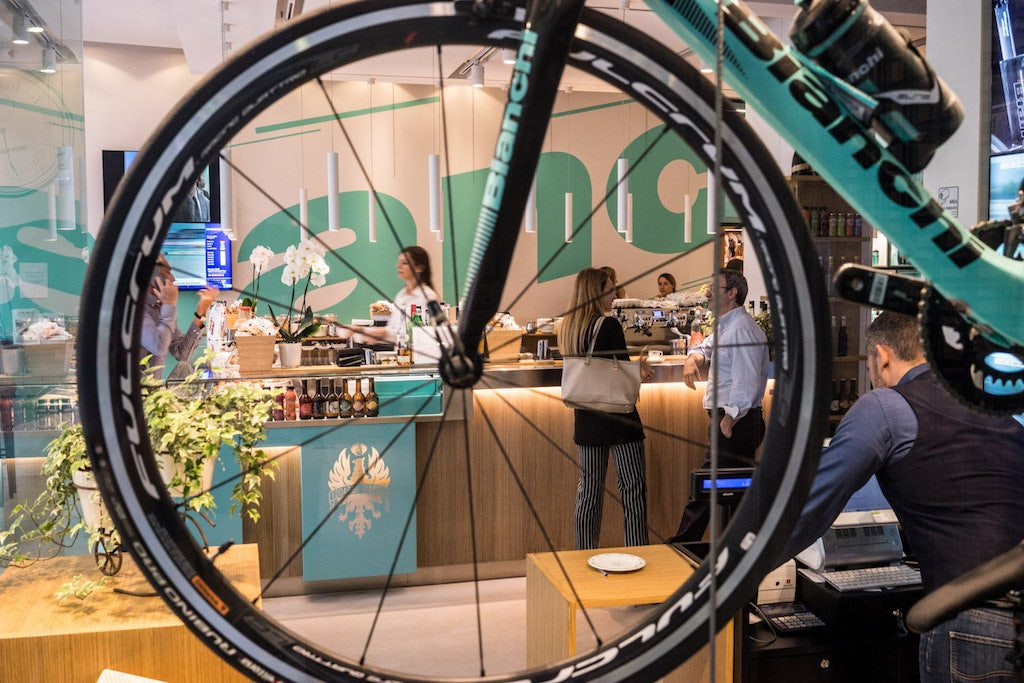 Bianchi Café & Cycles Milan