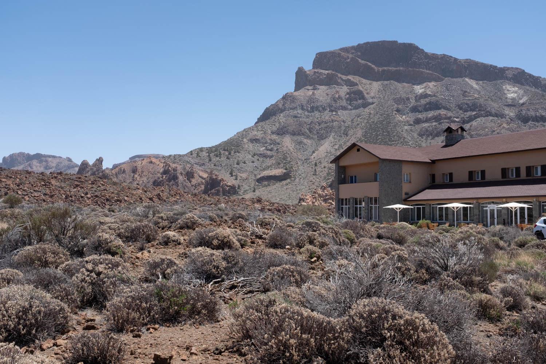 view from Restaurante Marmitia Parador Las Canadas del Teide