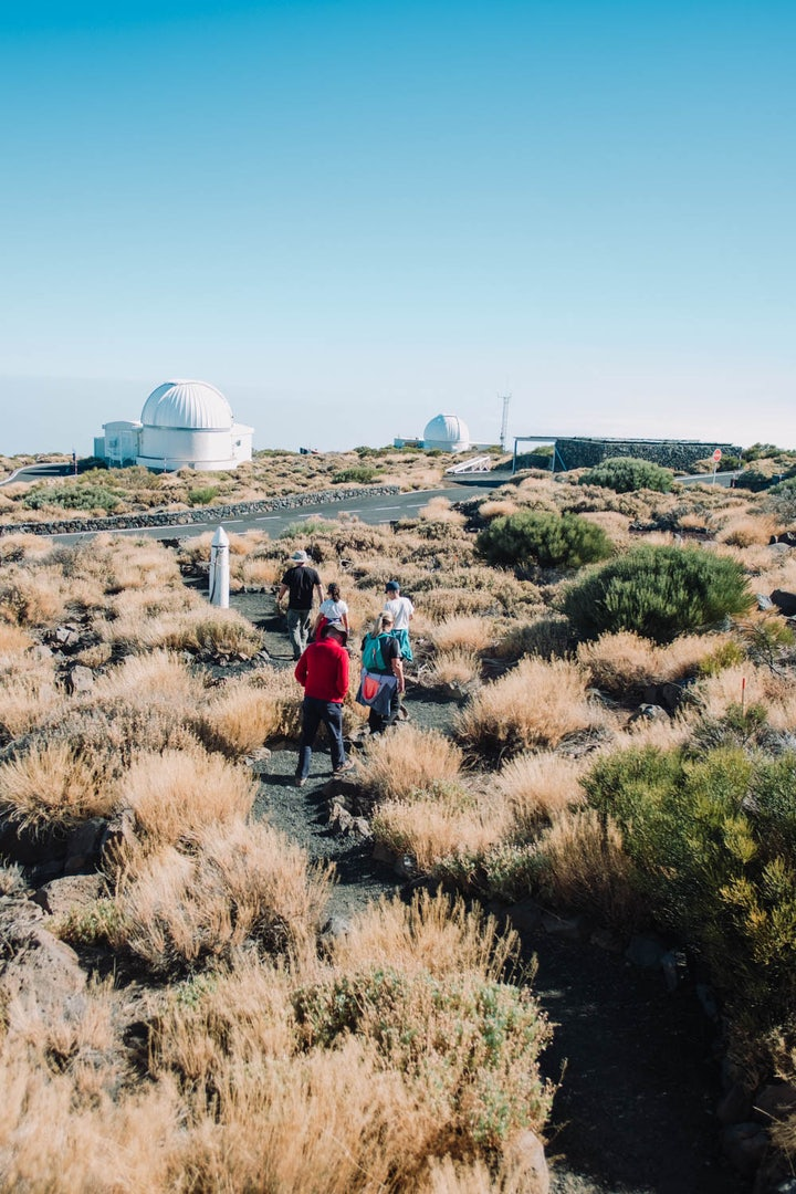 a tour to the Teide Observatory in Tenerife