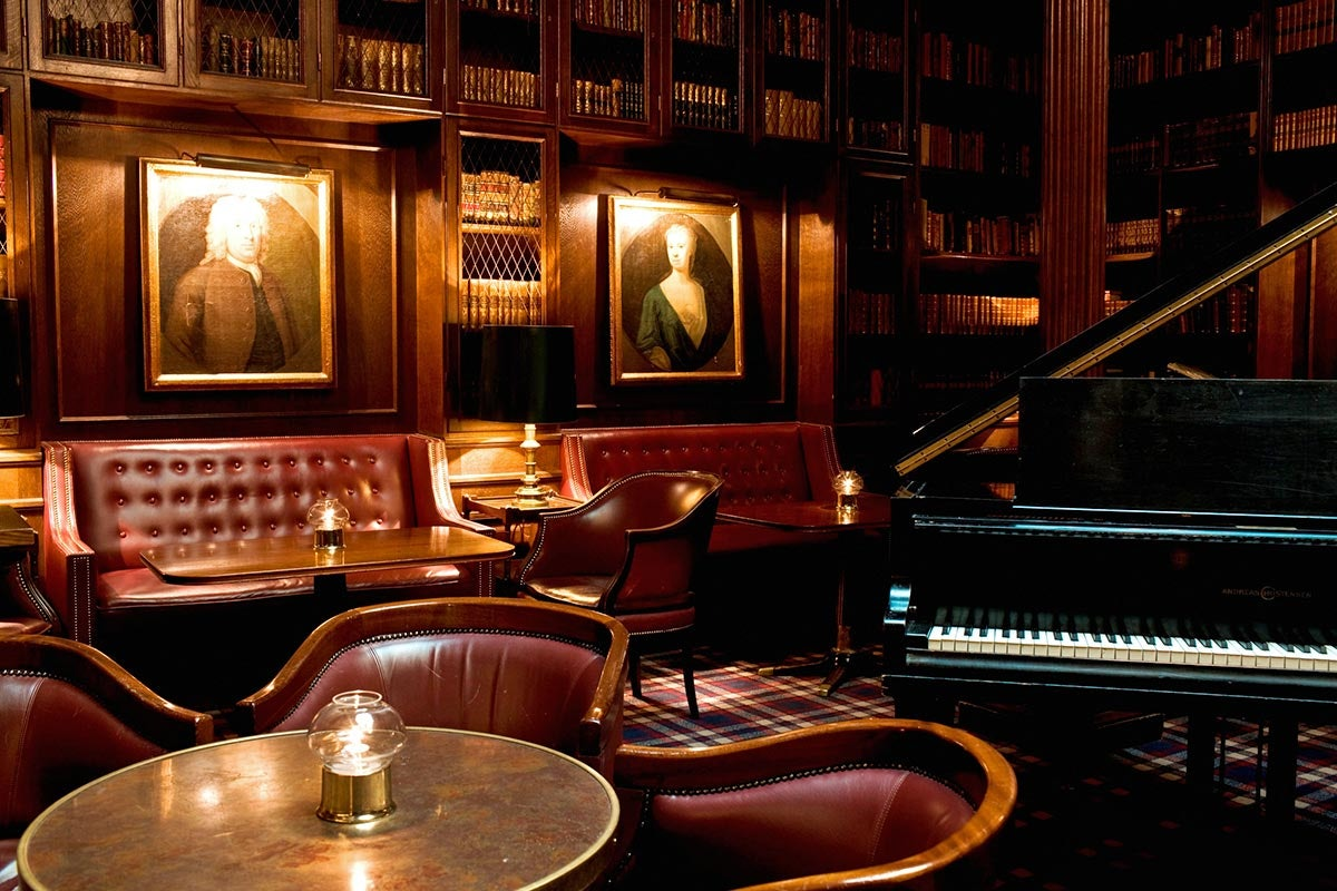 interior library bar