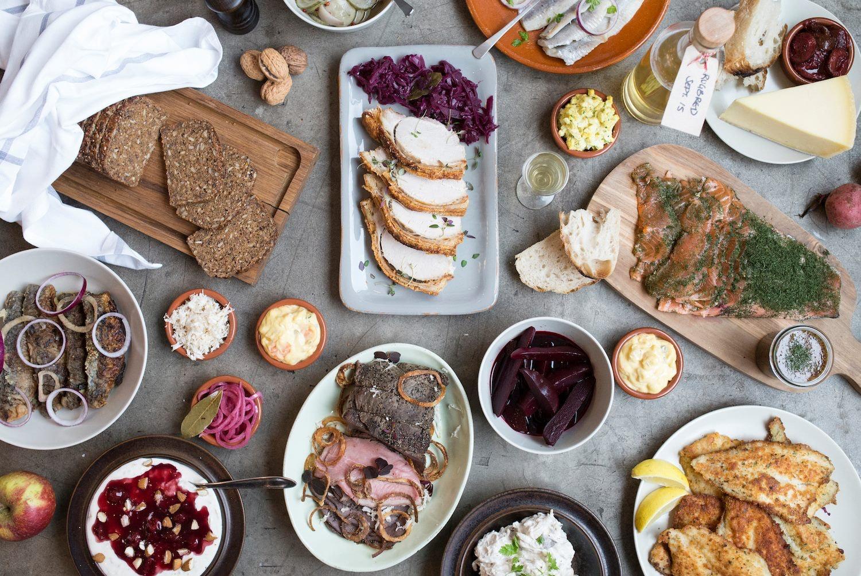 food Hallernes Smørrebrød