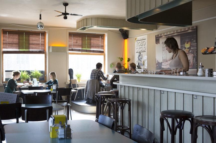 Restaurant De Robot in Ghent