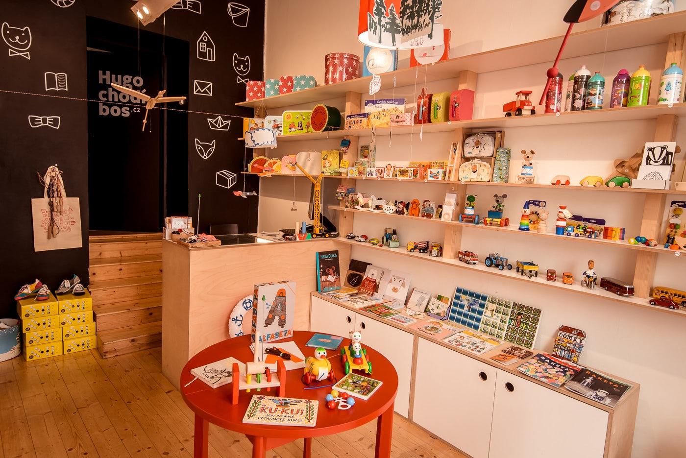 toys store Hugo Chodi Bos