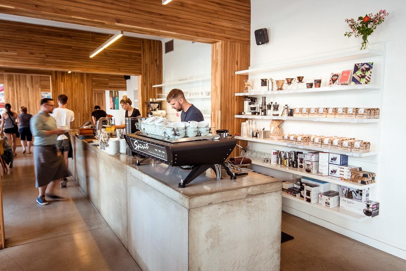 interior of Coffee bar Misto