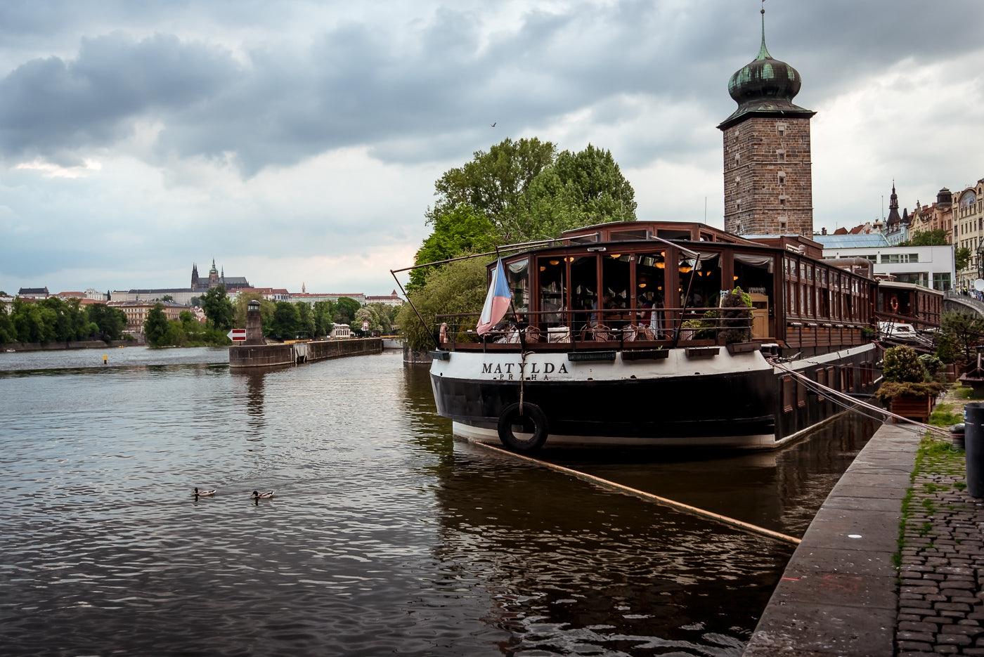 boat restaurant Matylda
