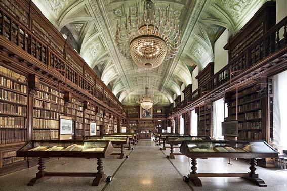 interior Braidense National Library