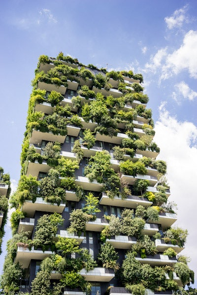 outside Vertical Forest