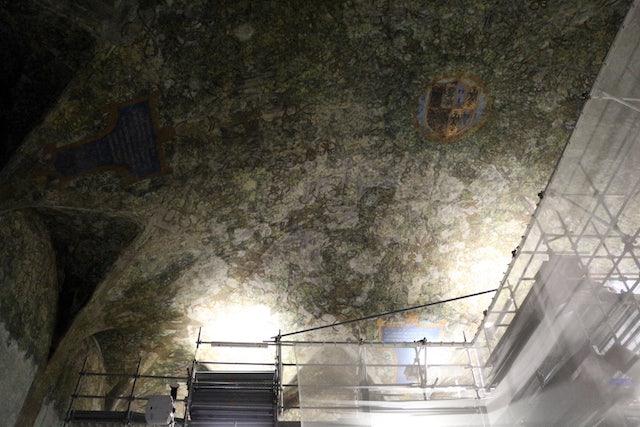ceiling Sala delle Asse