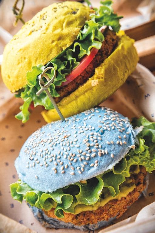 hamburger Flower Burger