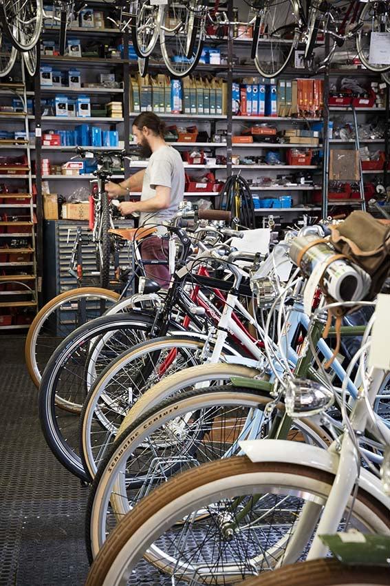 bikes Rossignol Historic Shop
