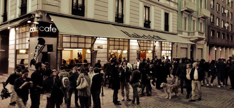 outside Radetzky Milan
