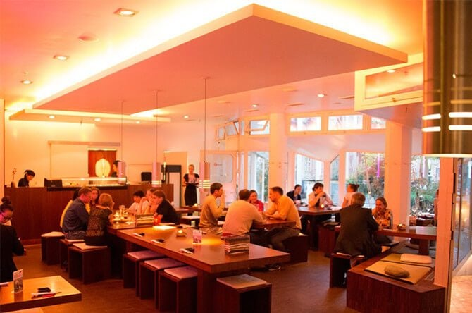 interior Sansaro Sushi Munich
