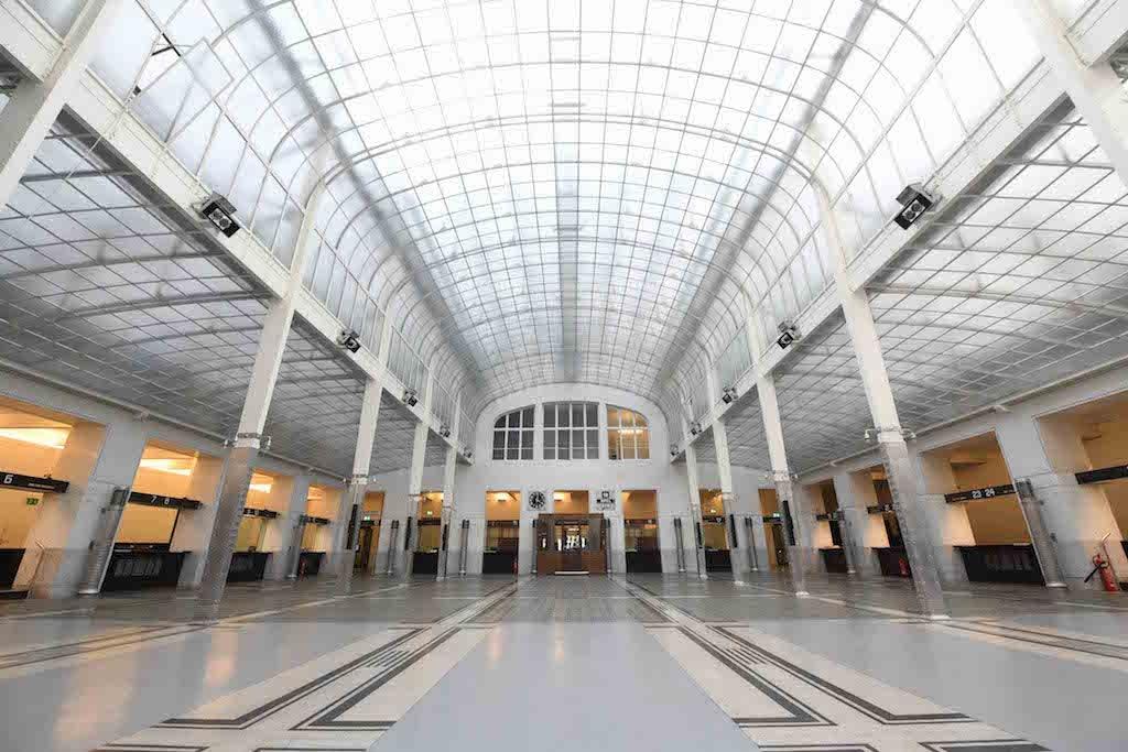 Österreichse Postsparkasse interior
