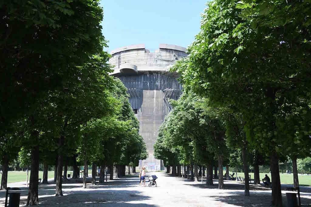 Augarten park Vienna
