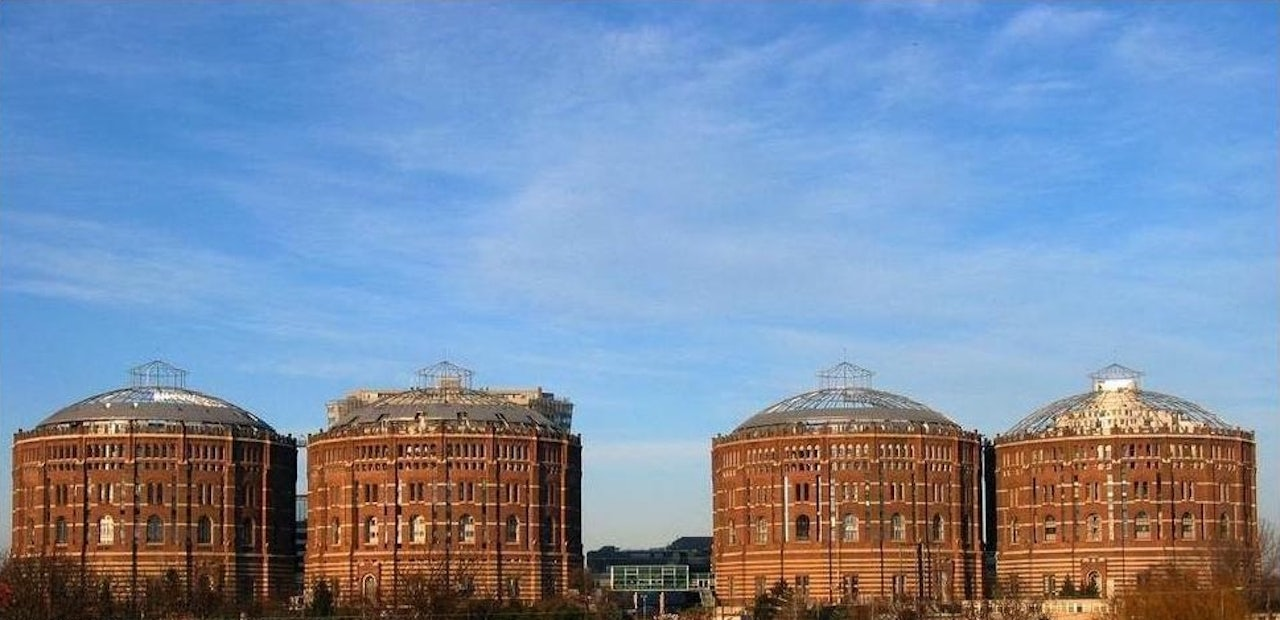 Gasometer towers Vienna