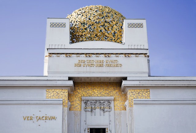 close up Secession Vienna