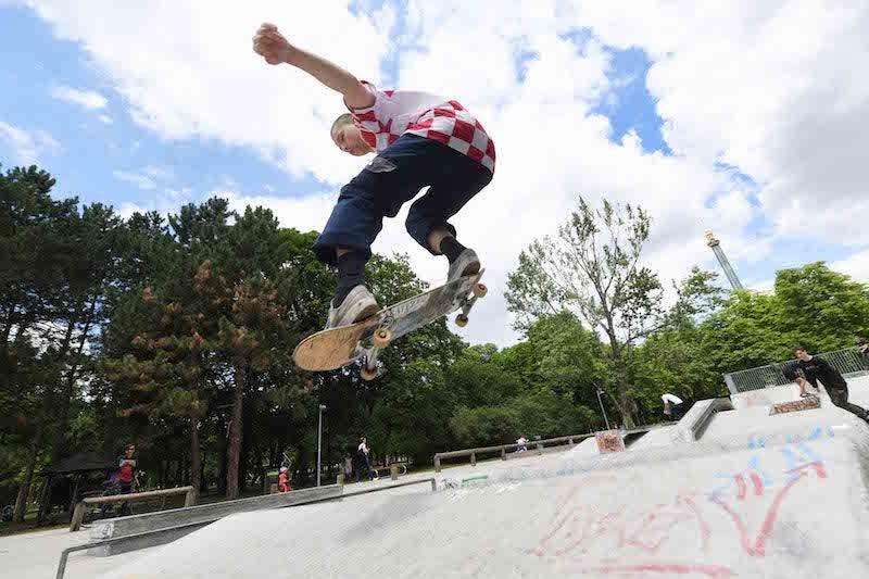 Prater Skate park Vienna