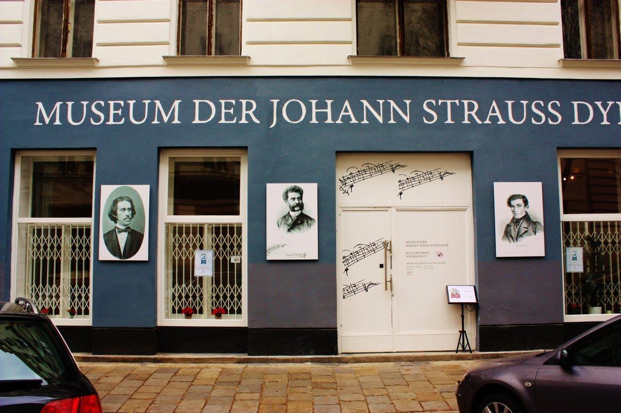 Strauss museum Vienna