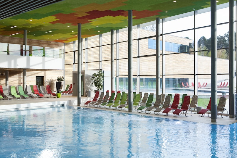 Therme Wien interior