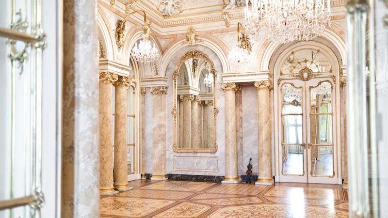 interior Palais Coburg Vienna