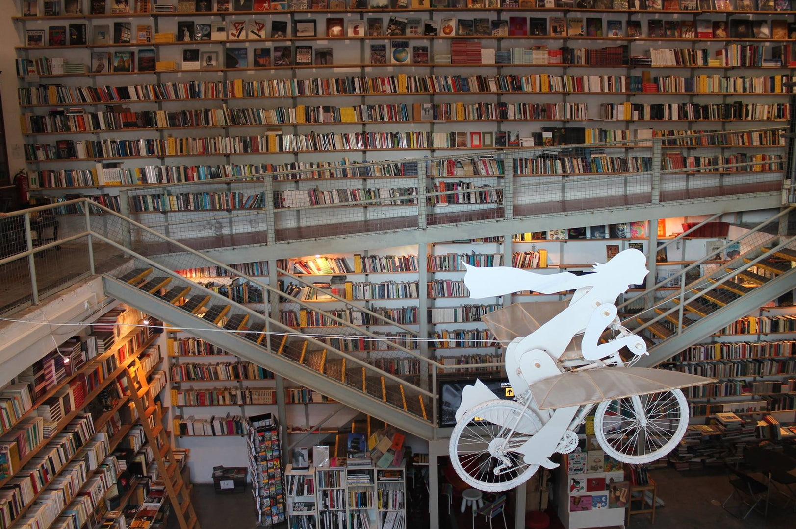 great amount of books at  Ler Devagar